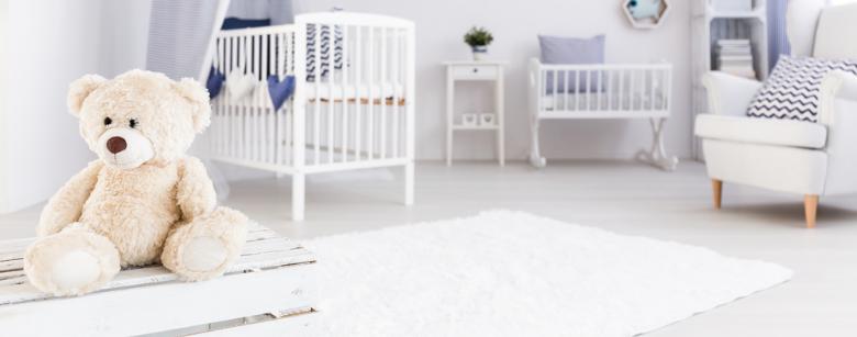 Baby's bedroom perfect for sleep